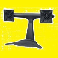 Dual Screen Desktop Monitor Mount Stand for Display 20 19 18 17 15 14 13 12 10