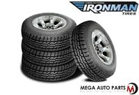 4 X New Ironman All Country AT 265/70R16 112T All Terrain Performance Tires