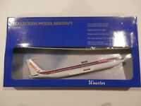 New MAOF AIRLINES BOEING 707  Wooster Desktop Scale Model Ser.No25-No glue