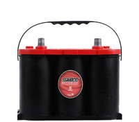 NEW OPTIMA BATTERY Battery Red Top 34R 800c ca/1000ca Top Post Rever R34-980
