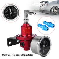 Universal Auto Car Fuel Pressure Regulator Adjustable W/ Oil Gauge Kit Exquisite