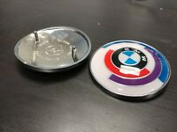 BMW VINTAGE MOTORSPORT ROUNDEL 82mm **NEW** E30 E28 E34 E36 E24