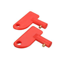 2x Spare Keys For Battery Isolator Switch Cut Off Power Car Boat Accessories
