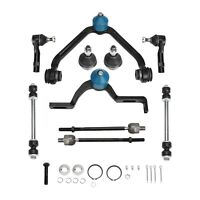10Pc Suspension Kit Fit Ford Explorer Ranger Control Arm Ball Joint Tie Rod Sway