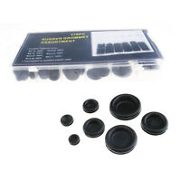 170 Pcs Rubber Grommet Assortment Firewall Hole Plug Electrical Wire Gasket Kit