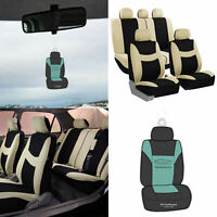 Auto Seat Covers For Car Suv Van Truck Universal w/ Accessories / Gift 11 Colors