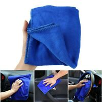 CZ-54 Blue Microfiber Car Cleaning Cloth Towel for Bathing/Cleansing(30 x 70cm)
