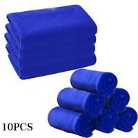 Car Care Cleaning Towels Soft Cloths Tool Accessories Microfiber Washcloth 10pcs