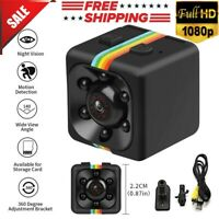 SQ11 Spy Hidden DV DVR Camera Full HD 1080P Mini Car Dash Cam IR Night Vision
