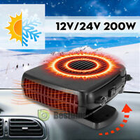 Powerful 2 Modes Car Truck Heating Cooling Heater Fan Defroster Demister DC 12V