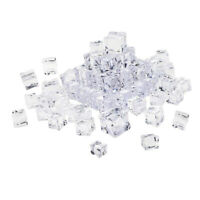 Fake Ice Cubes Square Acrylic Ice Cube Shooting Home Bar Decoration Supplies
