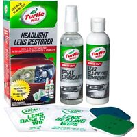 Renew Car Headlight Lens Restorer Kit Auto Care Truck Spray Cleaner Wipe Plastic