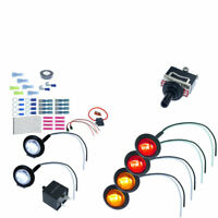 Universal Turn Signal Light Kit For All SXS ATV UTV With Toggle Switch Indicator