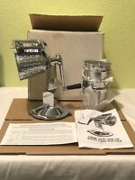 King Kutter Food Processor Stainless Steel Salad Master - Brand New