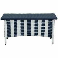 Safavieh Outdoor Living Figueroa Navy/ White Patio Set Navy/White 4-Piece Sets