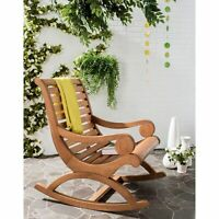 Safavieh Outdoor Living Sonora  Brown Rocking Chair Brown 25.2