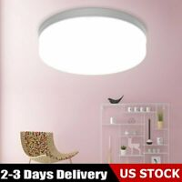 LED Dimmable Ceiling Light Ultra Thin Flush Mount Kitchen Round Home Fixture US