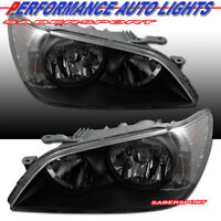 Set of OE Style Black Housing HID Version Headlights for 2001-2005 Lexus IS300