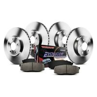 Mazda 3 14-16 Brake Kit K6972 1-Click Autospecialty Replacement Plain Front