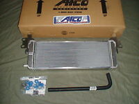 Supercharged 07-12 GT500 double pass AFCO heat exchanger / intercooler 08 09 10