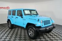 Jeep Wrangler Rubicon 4WD V6 SUV Heated Leather Navigation Hard Top Roof 2018 Jeep Wrangler JK Unlimited Rubicon 4WD V6 SUV Heated Leather Navigation