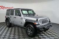 Jeep Wrangler Sport 4WD V6 SUV Backup Camera Hard Top Roof 2018 Jeep Wrangler JL Unlimited Sport 4WD V6 SUV Backup Camera Hard Top Roof