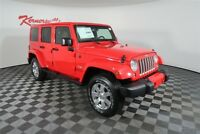 Jeep Wrangler Sahara 4WD V6 SUV Heated Leather Seat Navigation 2018 Jeep Wrangler JK Unlimited Sahara 4WD V6 SUV Heated Leather Seat Navigation