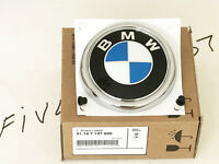 GENUINE BMW KIT Roundel REAR TRUNK Lift gate Hatch Emblem Sign Logo 2007-2013 x5
