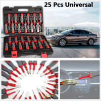 25 Pcs Professional Automotive Connector Pin Terminal Release Tools Set With Box