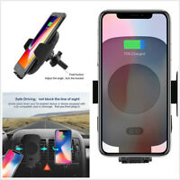Portable Wireless Charger Automatic Infrared Sensor Charging Mount For iPhone XS