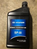 Genuine HYUNDAI SP III SP3 Automatic Transmission Fluid (Sells 1 Quart Each)