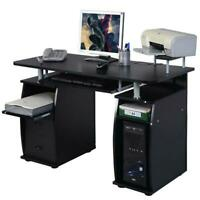 Corner Computer Laptop Desk Home Office Furniture With 3 Drawers