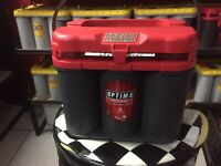 RED TOP OPTIMA BATTERY