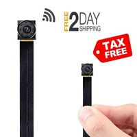 RZATU Mini Hidden Camera WiFi - Small Spy Cameras Wireless - Tiny Nanny Cam HD