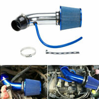 Universal Car Cold Air Intake System Turbo Induction Pipe Tube + Cone Air Filter