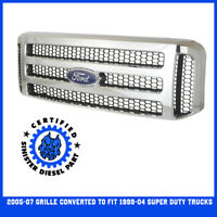 Blemish CHROME FORD SUPERDUTY GRILL 1999-04 F250 F350  SUPERDUTY GRILLE