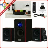 Surround Sound System Computer Speakers PC Wireless TV Home Theater Bluetooth
