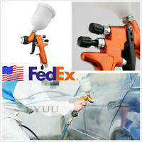 Professional Car Truck High Efficiency Gravity HVLP Paint Air Spray Gun With Cup
