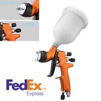 Professional High Efficiency TES HVLP Air Spray Gun With Cup Car Paint Spray Gun
