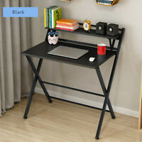 Modern Folding Computer Desk Home Office Study PC Writing Table Furniture USA