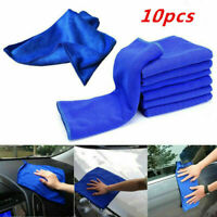 10PCS Car Soft Absorbent Wash Cloth Care Microfiber Cleaning Towels Wipe Dry