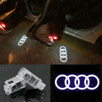 For Audi A4-A6 A8 Q3/5/7 LED Logo Light Shadow Projector Car Door Courtesy Laser
