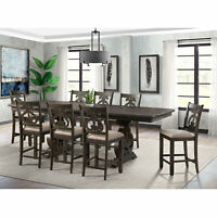 Picket House Furnishings Stanford Counter Height 9PC Dining Set DST195C9PC