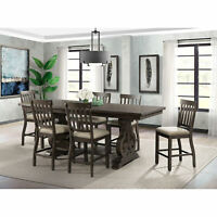 Picket House Furnishings Stanford Counter Height 7PC Dining Set DST190C7PC