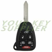 New Uncut Remote Head Key Fob Keyless Replacement Town & Country and Caravan