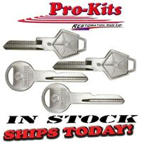 New OE Style Uncut Keys with Pentastar Dodge Plymouth Chrysler Cars