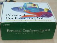 VCON Personal Conferencing Kit Desktop Video Camera XC77B/460 PCA46070 E256101P