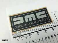 DMC - DeLorean Air Cleaner Label - Early Style, Small