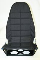Black Max Comfortlite Airplane Folding Seat