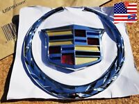Large Cadillac CTS Front Grille emblem 2008,2009,2010,2011,2012,2013